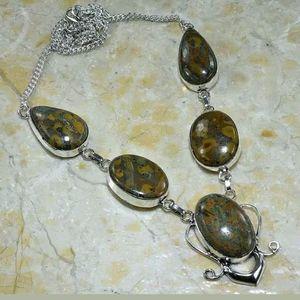Jewelry - Autumn Jasper necklace 22 inches